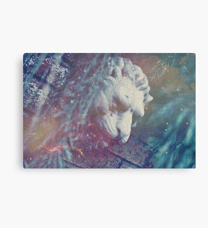 Haunted Lion Canvas Print
