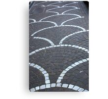 Pavement Patterns Canvas Print