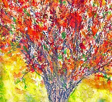 Autumn Tree by Sam Fonte