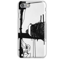 Black on White Wire iPhone Case/Skin