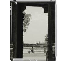 At the Temple Gate Siem Reap iPad Case/Skin