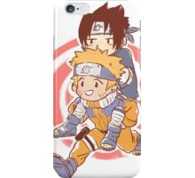 Sasuke & Naruto iPhone Case/Skin
