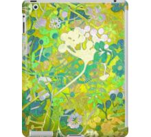 Wacky Retro Floral Abstract iPad Case/Skin