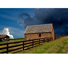 Stormy Rural Landscape Photographic Print