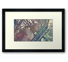 Haunted Girl Framed Print