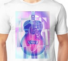 5161i Guitar with Face Unisex T-Shirt