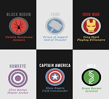 The Avengers  by 3e3e