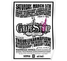 GrapeStomp Festival Poster
