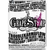 GrapeStomp Festival iPad Case/Skin