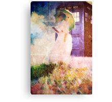Time Travel In Art Canvas Print