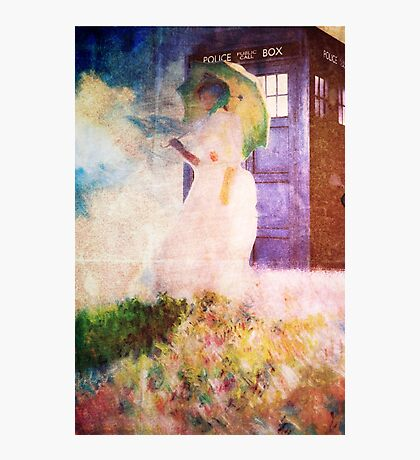 Time Travel In Art Photographic Print