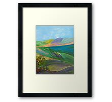 Hill Country Framed Print