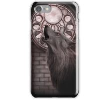 Cycle of the moon iPhone Case/Skin