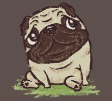 Pug that relaxes Kids Clothes