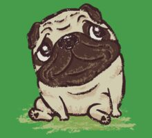 Pug that relaxes Kids Tee