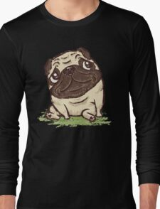 Pug that relaxes Long Sleeve T-Shirt