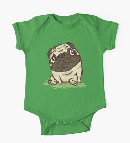 Pug that relaxes One Piece - Short Sleeve