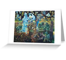 """Springtime in the Eleventh Dimension"" Greeting Card"