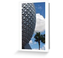 Epcot-Spaceship Earth Greeting Card
