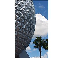 Epcot-Spaceship Earth Photographic Print
