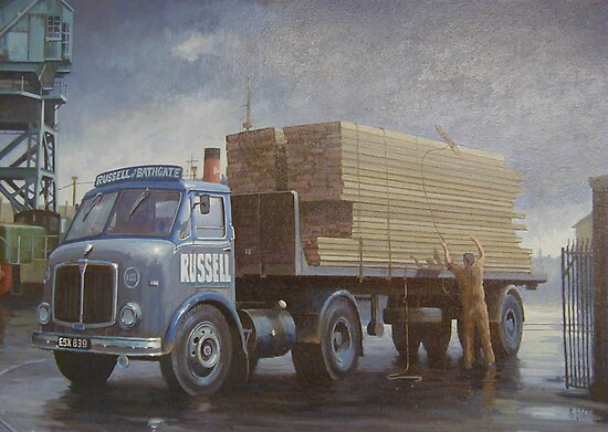 AEC Mercury artic by Mike Jeffries