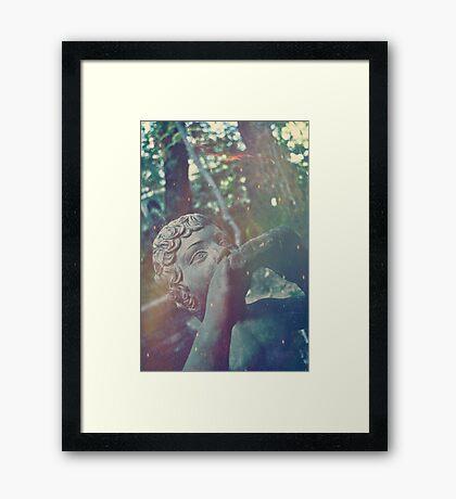 Haunted Child Framed Print