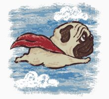 Flying Pug Kids Tee