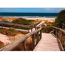 Pathway to the Beach Photographic Print
