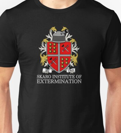 Skaro Institute Of Extermination (Black/Dark Colours) Unisex T-Shirt