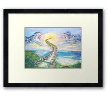 Staiways To Heaven Framed Print