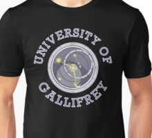 University Of Gallifrey (Black/Dark Colours) Unisex T-Shirt