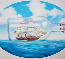"""Ship in a Bottle"" by James McCarthy"