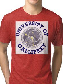 University Of Gallifrey Tri-blend T-Shirt
