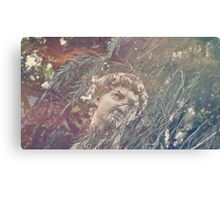 Haunted Head Canvas Print