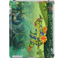 Green Car iPad Case/Skin