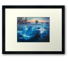 """Winter Lament"" Framed Print"