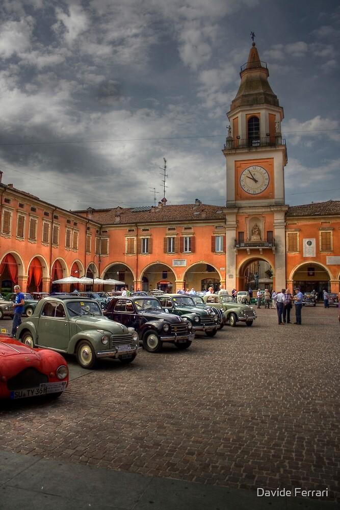 A jump in the past piazza piccola sassuolo italy by davide ferrari redbubble - Sassuolo italia ...