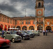 A jump in the past,Piazza Piccola,Sassuolo,Italy by Davide Ferrari