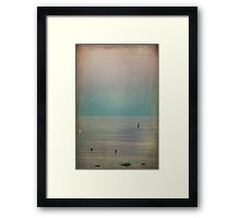 It's Oh So Quiet Framed Print