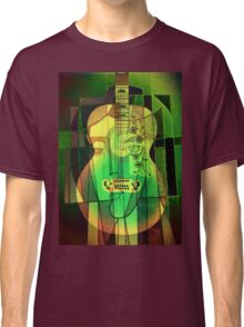 5161 Guitar with Face Classic T-Shirt