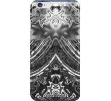 Beveled Silver Reflector iPhone Case/Skin