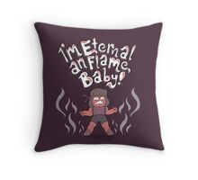 Ruby and the Eternal Flame Throw Pillow