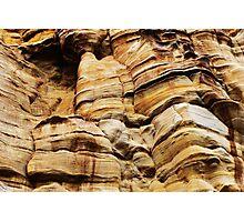 Sandstone Texture Photographic Print