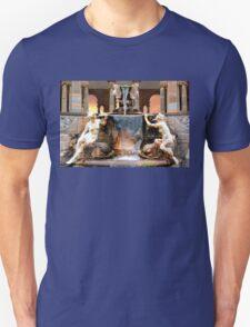 Historic Ornamental Fountain Display Unisex T-Shirt