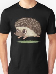 Hedgehog running Unisex T-Shirt