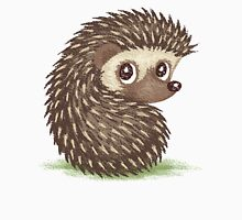 Hedgehog which looks at back Unisex T-Shirt