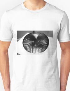 Abstract Black and White Unisex T-Shirt