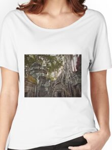 Temples in Angkor Wat, Cambodia Women's Relaxed Fit T-Shirt
