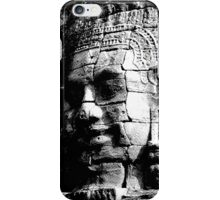 The Smiling Face of Buddha - Siem Reap iPhone Case/Skin
