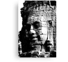 The Smiling Face of Buddha - Siem Reap Canvas Print